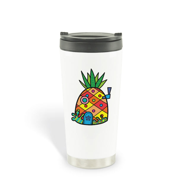 SpongeBob SquarePants Britto Pineapple Travel Mug - SpongeBob SquarePants Official Shop