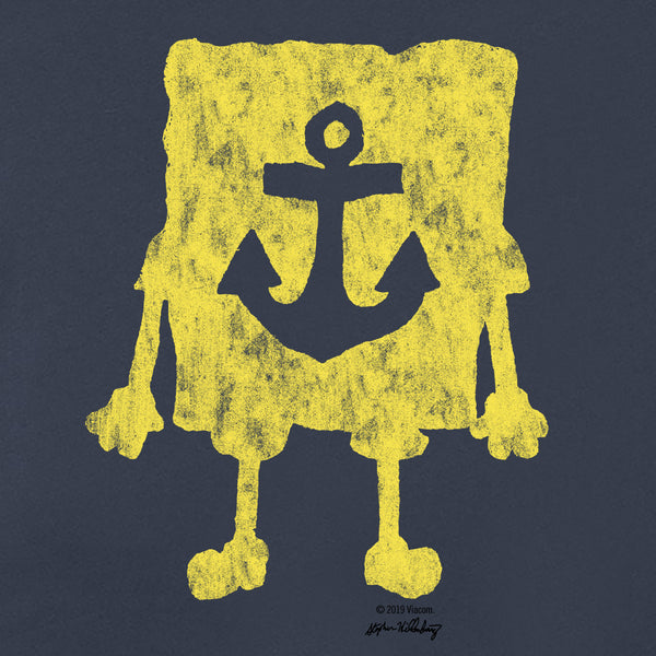 SpongeBob SquarePants Yellow Silhouette Tank Top - SpongeBob SquarePants Official Shop