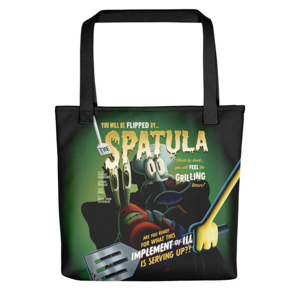 SpongeBob Flipped By Spatula Tote Bag - SpongeBob SquarePants Official Shop