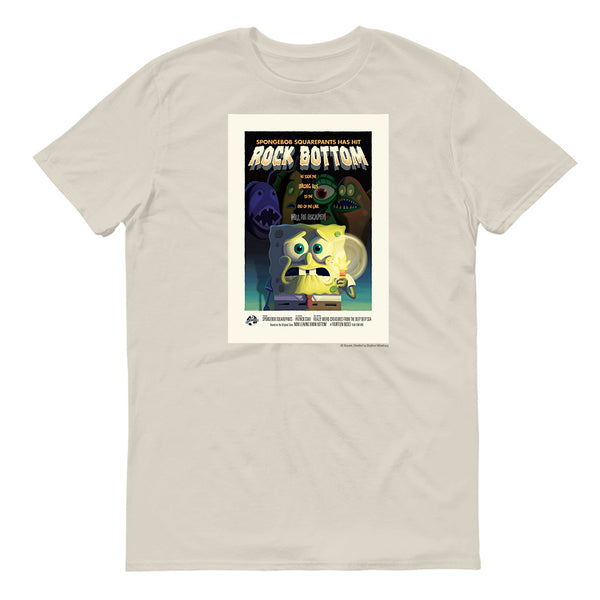 SpongeBob SquarePants Rock Bottom Adult Short Sleeve T-Shirt