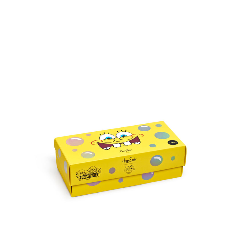 SpongeBob 3-Pack Sock Giftbox - SpongeBob SquarePants Official Shop