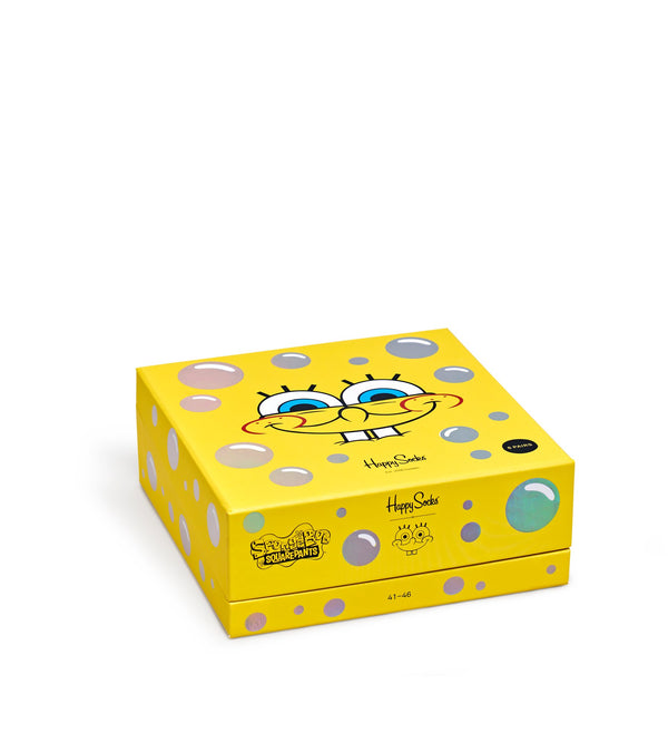 SpongeBob 6-Pack Sock Giftbox - SpongeBob SquarePants Official Shop