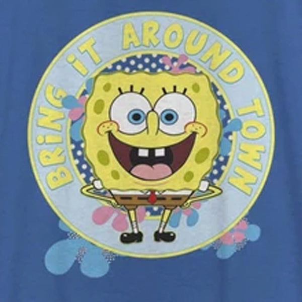 SpongeBob SquarePants Bring It Around Women's Racerback Tank Top - SpongeBob SquarePants Official Shop