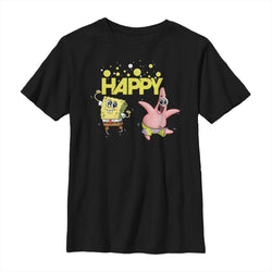 Happy Kids T-Shirt - SpongeBob SquarePants Official Shop