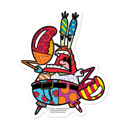 Mr. Krabs Britto Sticker - SpongeBob SquarePants Official Shop