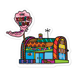 The Krusty Krab Britto Sticker - SpongeBob SquarePants Official Shop