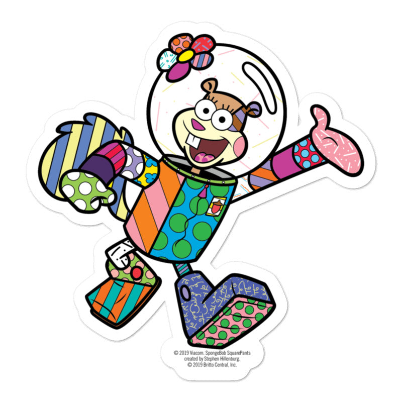 Sandy Britto Sticker - SpongeBob SquarePants Official Shop