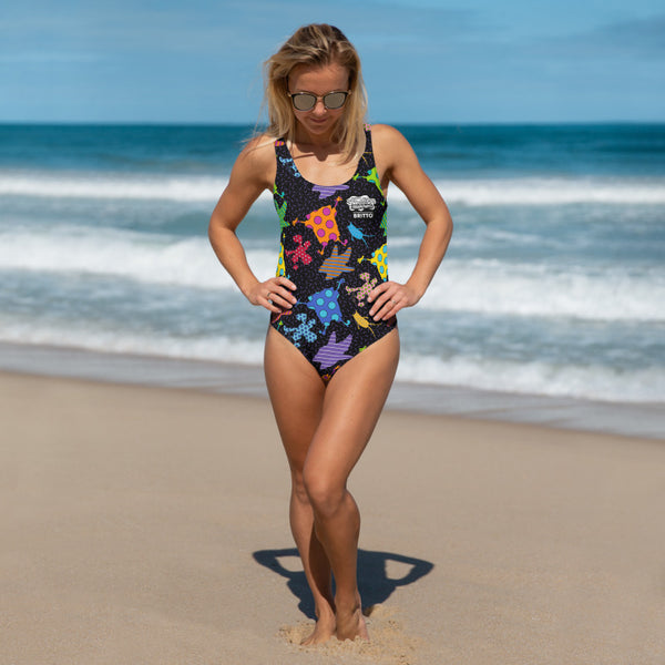 SpongeBob SquarePants Britto One Piece Swimsuit - SpongeBob SquarePants Official Shop