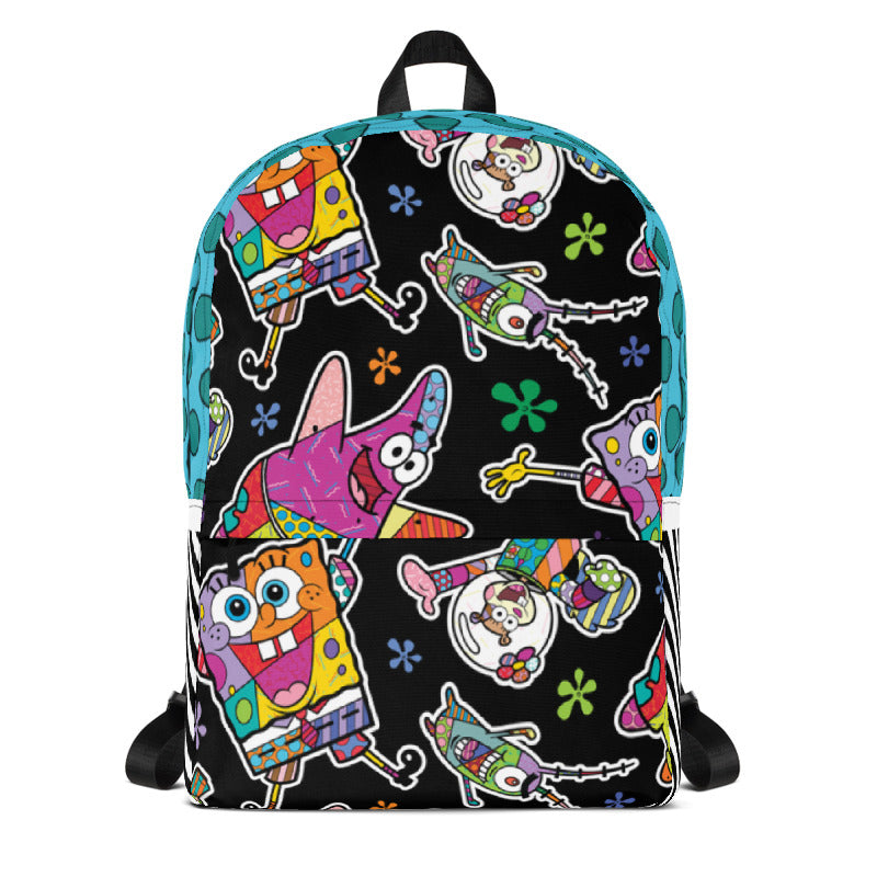 SpongeBob SquarePants Britto Backpack - SpongeBob SquarePants Official Shop