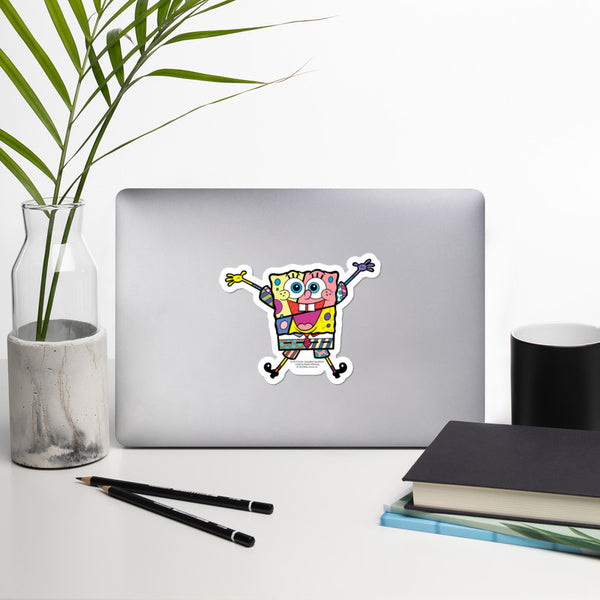 SpongeBob SquarePants Britto Sticker - SpongeBob SquarePants Official Shop