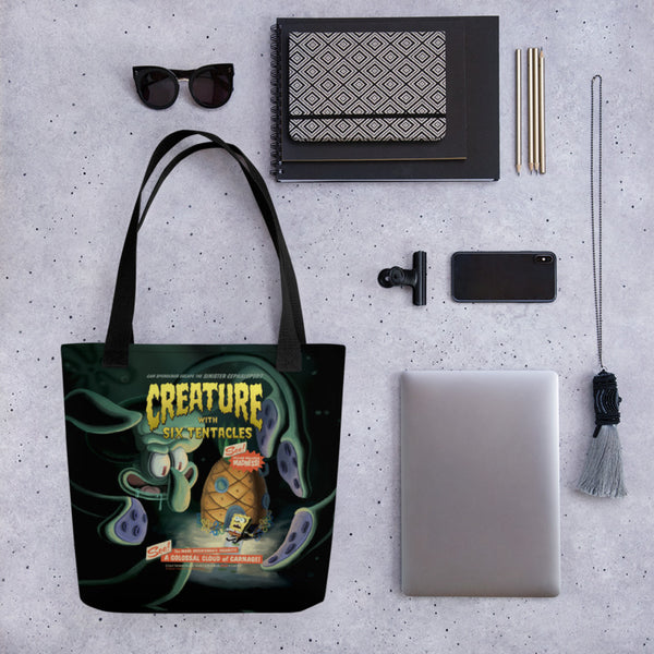 SpongeBob Creature With Six Tentacles Tote Bag - SpongeBob SquarePants Official Shop