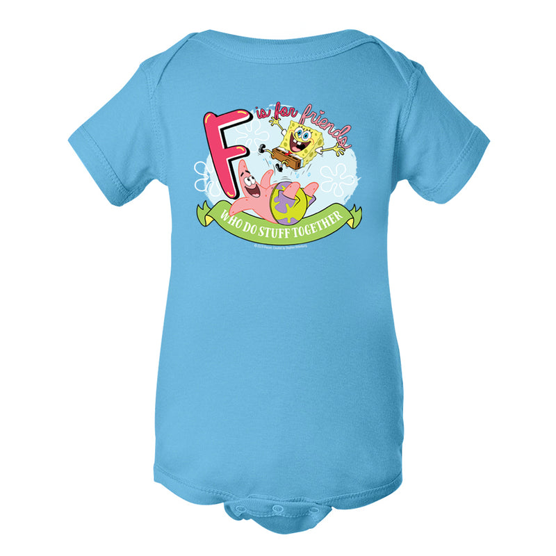 SpongeBob SquarePants Do Stuff Together Baby Bodysuit