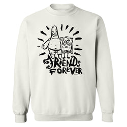 SpongeBob SquarePants Friends Forever Crew Neck Sweatshirt