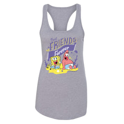 SpongeBob SquarePants Best Friends Women's Racerback Tank Top