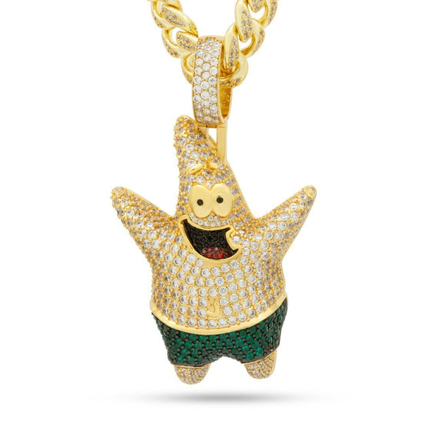 SpongeBob x King Ice - XL Patrick Star Necklace - SpongeBob SquarePants Official Shop
