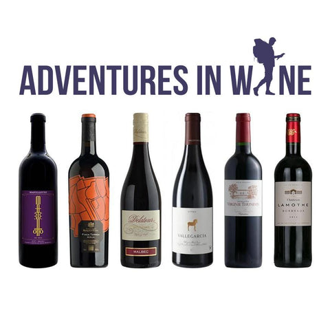 Adventures in Wine Introductory Offer Six Bottles 6 x 750ml