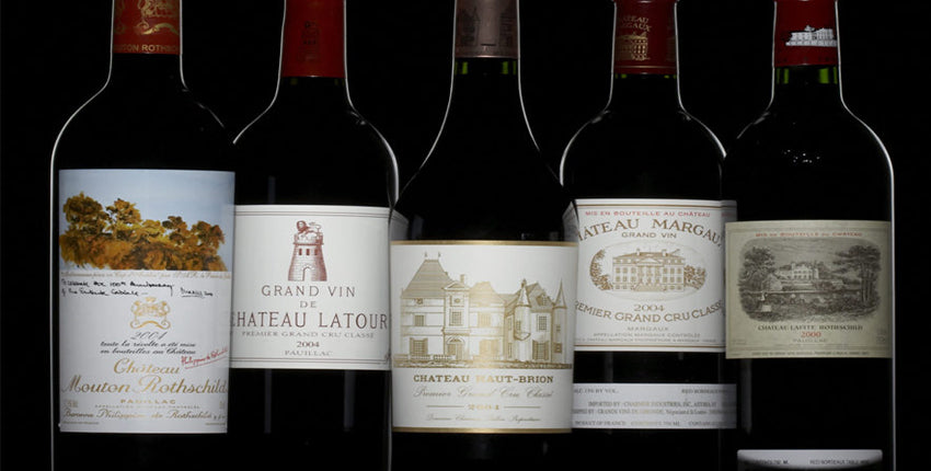 BDX 1st Growth (most expensive & famous wines)