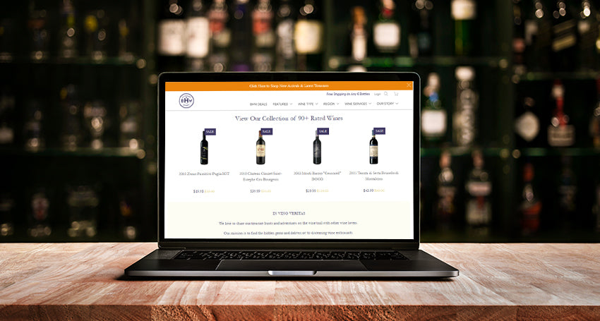 Tech in the Wine Retail Trade