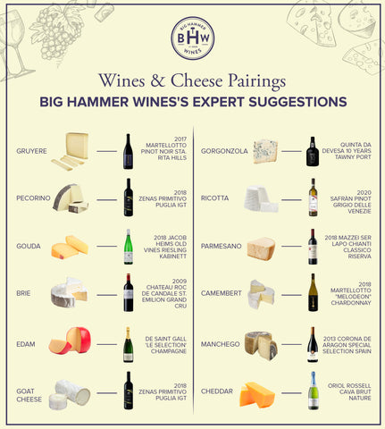 Wine and Cheese With Big Hammer Wines