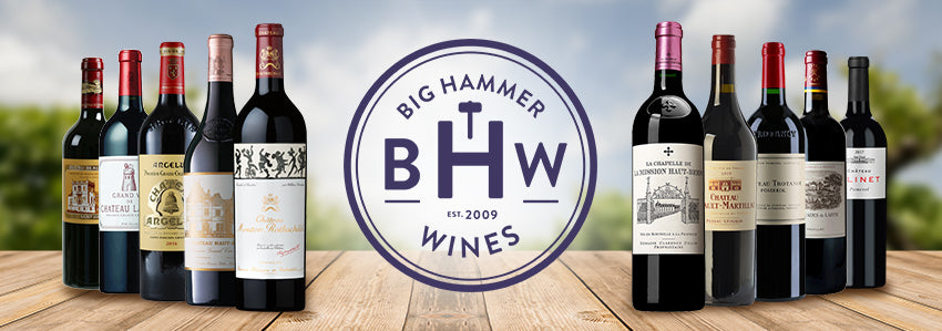 2019 Bordeaux en Primeur Wine Expert Big Hammer Wines