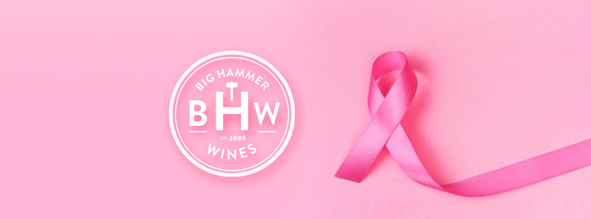 big hammer wines supports breast cancer month