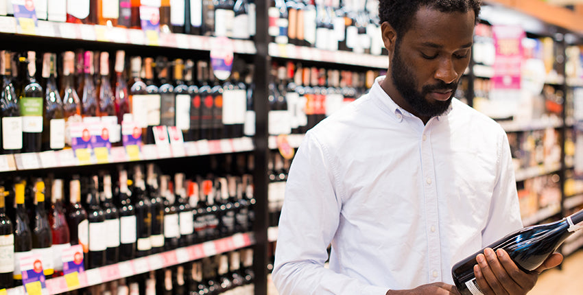 grocery store wine benefits