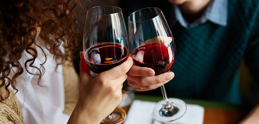 alcohol measure effects for wine drinkers