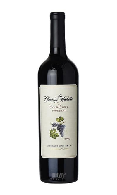 2013 Chateau Ste. Michelle Cold Creek Vnyd Cabernet Sauvignon Columbia Valley