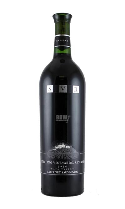 bighammerwines.com Red 1996 Sterling Vineyards Reserve Napa Valley Cabernet Sauvignon