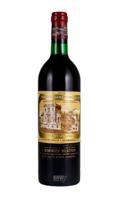1976 Chateau Ducru Beaucaillou Saint Julien 2nd Classified Growth
