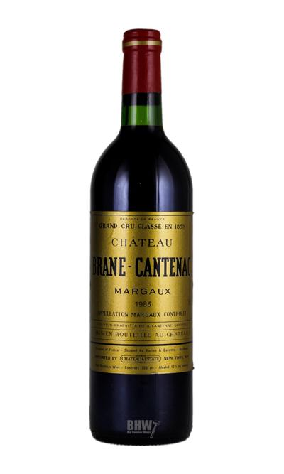 bighammerwines.com Red 1983 Chateau Brane-Cantenac Margaux 3rd Growth