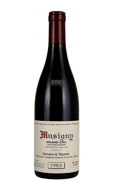 bighammerwines.com Red 1983 G. Roumier Musigny