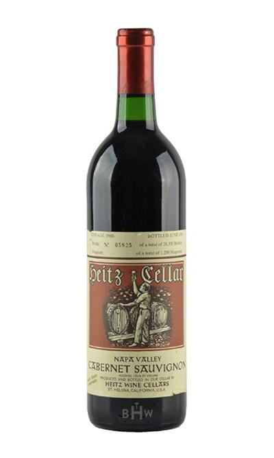 1986 Heitz Cellars Martha's Vineyard Cabernet Sauvignon Napa Valley