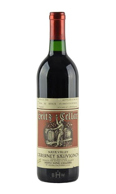 bighammerwines.com Red 1986 Heitz Cellars Martha's Vineyard Cabernet Sauvignon Napa Valley