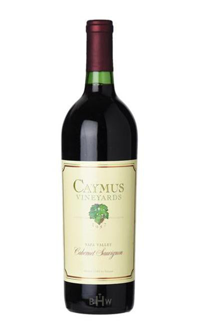 Caymus Red 1987 Caymus Cabernet Sauvignon Napa Valley