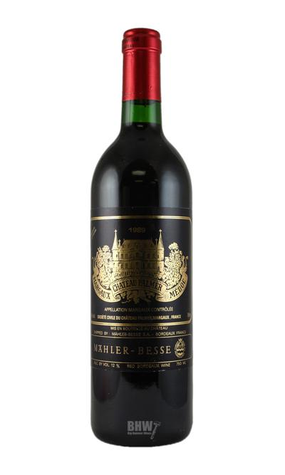 1989 Chateau Palmer Margaux 3rd Classified Growth