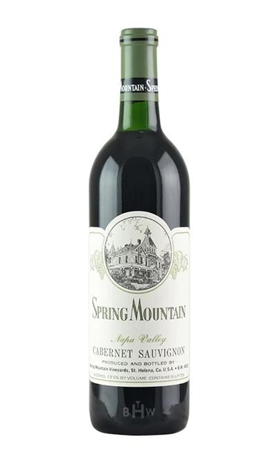 Winery Direct Red 1990 Spring Mountain Vineyard Cabernet Sauvignon Napa 1.5L