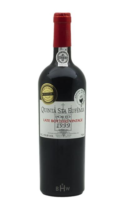 1999 Quinta De Santa Eufemia LBV Late Bottled Vintage Port