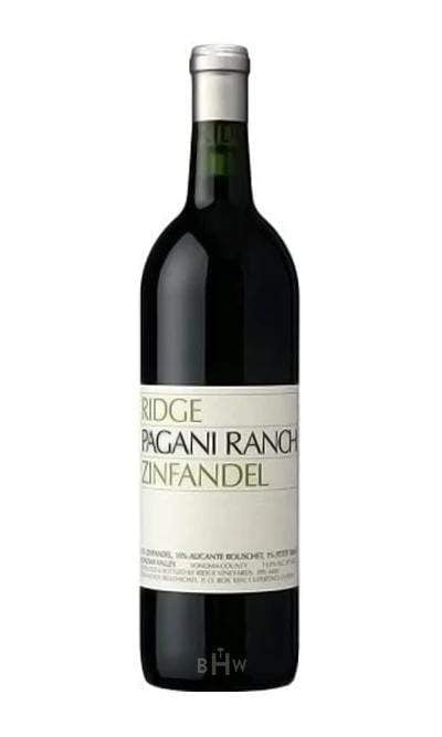 2016 Ridge Vineyards Pagani Ranch Zinfandel Sonoma Valley - bighammerwines.com