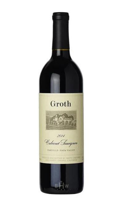 bighammerwines.com Red 2014 Groth Cabernet Sauvignon Oakville Napa Valley