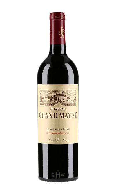 bighammerwines.com Red 2016 Chateau Grand Mayne St. Emilion Grand Cru