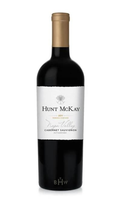 2011 Hunt McKay Napa Valley Rutherford Cabernet Sauvignon 92WE - bighammerwines.com