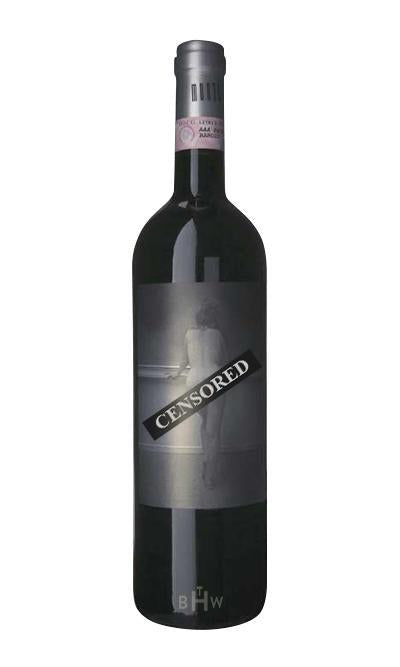 "bighammerwines.com Red 2003 Monti Barolo ""Censored"" DOCG"