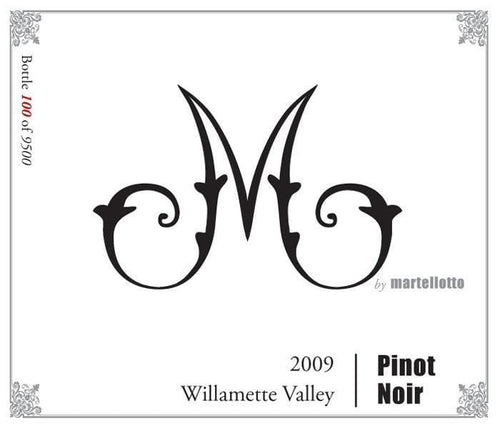 Martellotto Red M by Martellotto Pinot Noir 2009 Thistle Vineyard