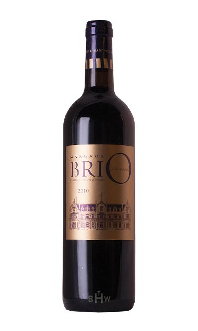 MHW Red 2010 Brio de Cantenac Brown Margaux