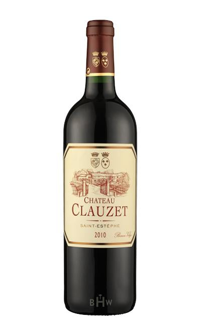 MHW Red 2010 Chateau Clauzet Saint-Estephe Cru Bourgeois