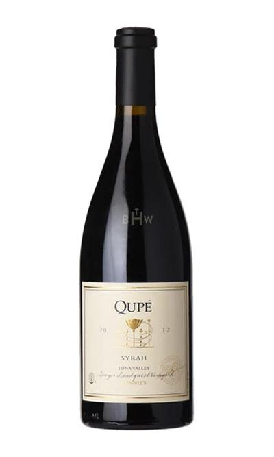 bighammerwines.com Red 2012 Qupe Syrah Sawyer-Lindquist Vineyard Edna Valley