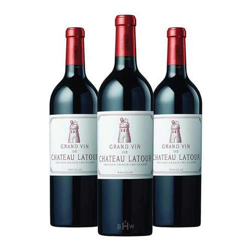 Big Hammer Wines 2012 Chateau Latour Pauillac 1st Classified Growth 3pk