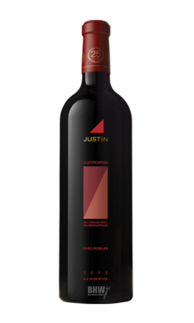 bighammerwines.com Red 2013 Justin Justification 1.5L Magnum Red Blend