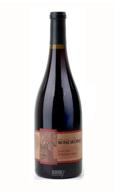 bighammerwines.com Red 2013 Walnut City Wineworks Pinot Noir Willamette Valley